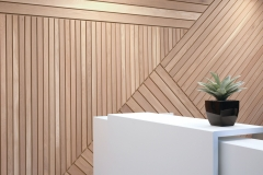 Recycled Wooden Wall Installation from BE.Spoke